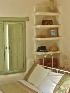 ...and rustic shelving