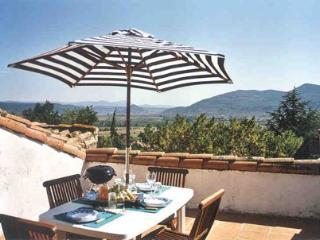 Mas Canet hse 1 roof terrace, Salasc