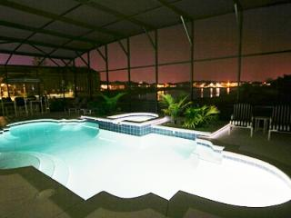 Night Time Pool White