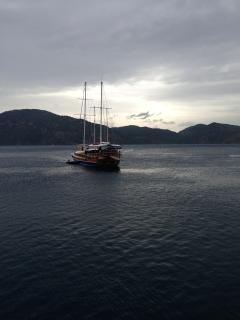 Spend a day on a gullet leaving from Fethiye a 15 minute bus trip away.