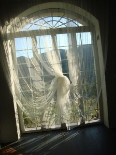 Window on the living room