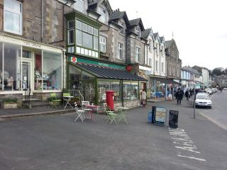 Arnside Promenade Attractive Shops Cafes Galleries Convenience stores and Pubs