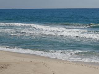 playa en frente de la casa