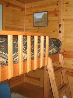 loft bed for the kids in the bedroom