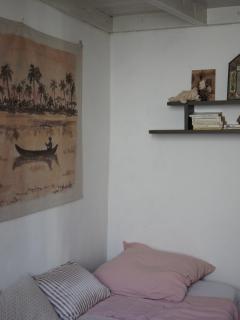 la chambre avec mezzanine