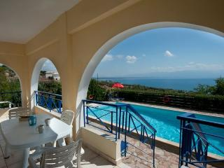 Villa Eleni. EOT licensed. Sea view, Private pool.