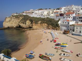 Carvoeiro beach is only a walk away