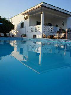 Casa Mare is a spacious beachside villa, large pool in a beautiful garden