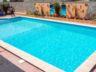 With a large private solar heated swimming pool, just waiting for you.