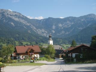Breathtaking scenery over the Village of Haus - the 'jewel in the crown' of Styria