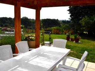 Maison Safran de Najac, Stone Farmhouse, pool and garden in a tranquil setting
