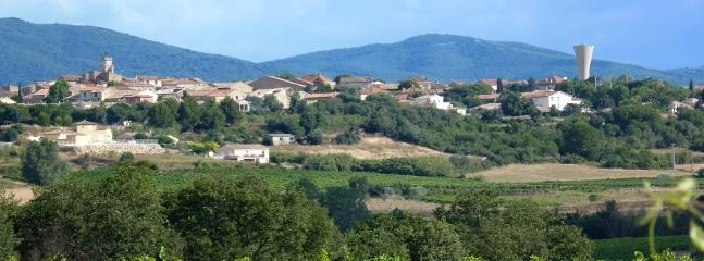Pretty hill-top village of Autignac