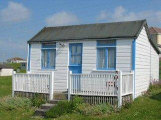 SEA ANGEL BEACH CHALET CORNWALL 1930,s self catering vintage holiday fun xxxx