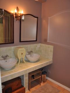 Salle de bains de la chambre Vouvray