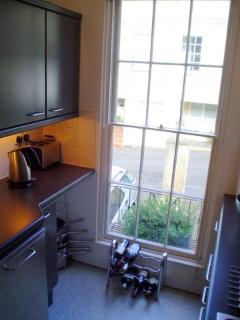 Kitchen with a Fab View