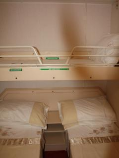 Second Bedroom (picture shows third bed available)