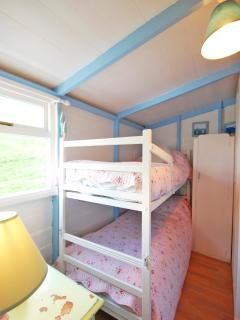 2nd Bedroom Bunkbed Galley with little wardrobe & Dressing Table xx