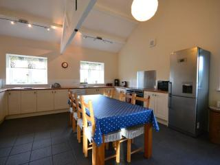 Kitchen overlooking the nature reserve. Updated in 2013