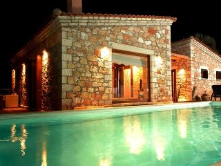 Villa at Amalia night