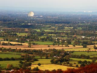 A view of Cheshire's rolling countryside