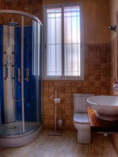 Cabina de ducha con hidromasaje