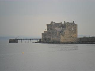 Blackness castle viewed from Sea Yetts