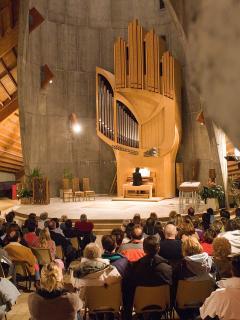 Orgue à Notre Dame des Neiges