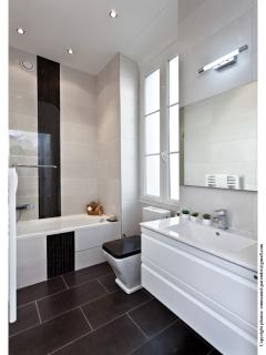 Master rooms ensuite with towel warmer