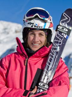Ophélie DAVID notre championne de ski cross