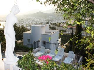 Balcony views over cosmopolitan Bodrum