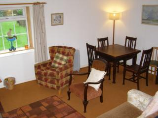 The living room at Rose Cottage