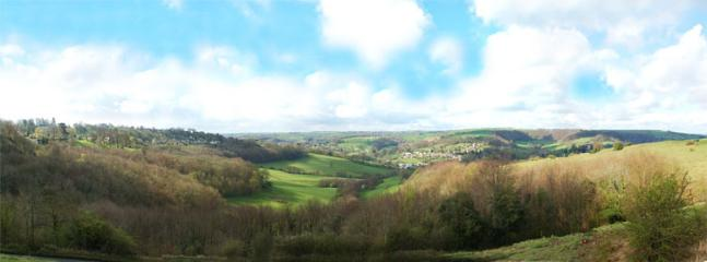 Nailsworth Valley from The Bear at Rodborough - 25-30 minute walk
