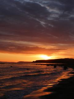Sunset at Monreith Bay