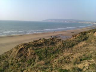 View towards Sandown Bay