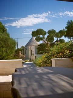 Gazebo and trullo