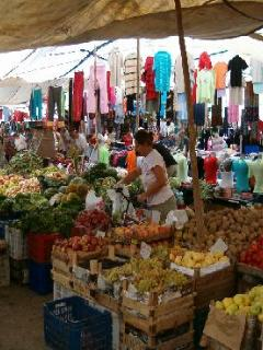 Lively local markets
