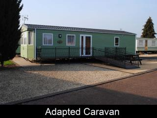 Disabled 2 Bedroom Caravan, Tiddington