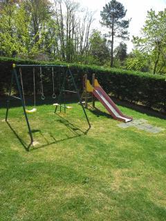 jeux pour enfants coté terrasse ouverte