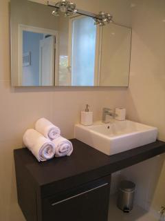 Master ensuite bathroom - newly refurbished to modern stylish design