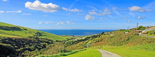 Hills above Woolacombe