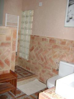 entrada a la ducha