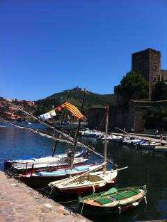 Traditional Catalan fishing boats in the surrounding coastal villages