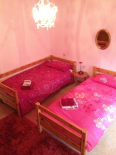 There is only one twin room and five double rooms within the property.