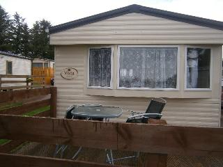 Residential Caravan on Highland Holiday Park., Dornoch