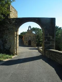 Entrance of the village