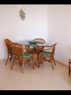 Designated dining area