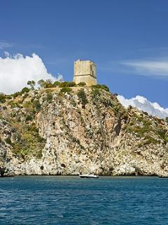 Book an excursion and spend the day exploring the coastline around Castellammare and Scopello.