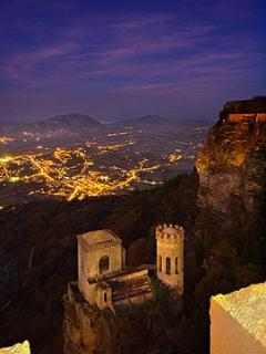 A view from the parapit at Erice - A 25 minute drive.
