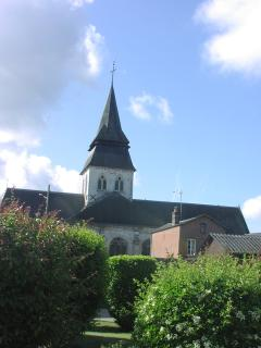 View of the church from your garden