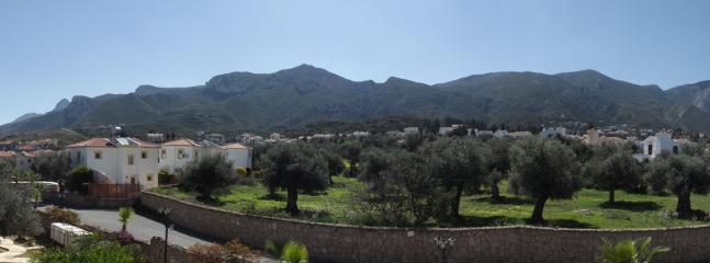 View from door upto Bellapais